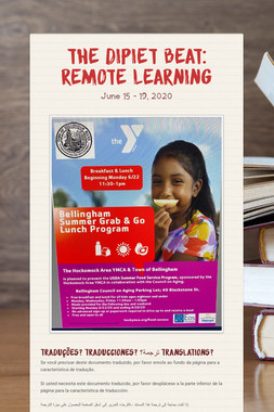 The DiPiet Beat: Remote Learning