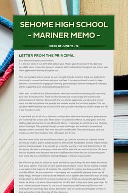 Sehome High School - Mariner Memo -