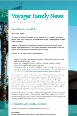 Voyager Family News