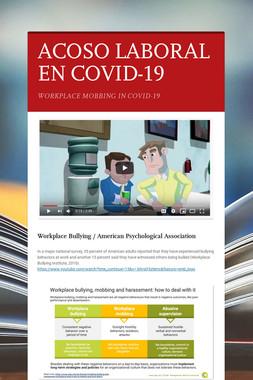ACOSO LABORAL EN COVID-19