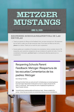Metzger Mustangs