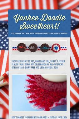Yankee Doodle Sweetheart!