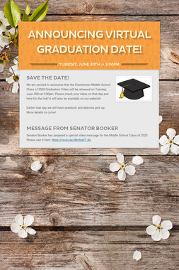Announcing Virtual Graduation Date!
