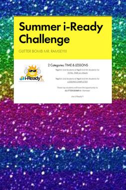 Summer i-Ready Challenge