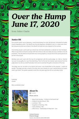 Over the Hump  June 17, 2020