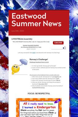 Eastwood Summer News