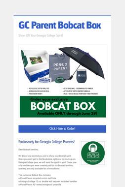 GC Parent Bobcat Box