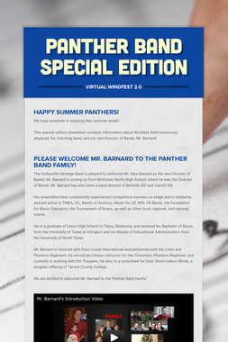 Panther Band Special Edition