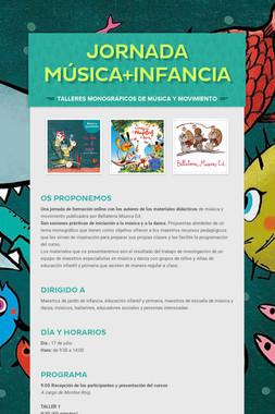 jornada Música+Infancia