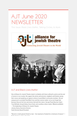 AJT June 2020 NEWSLETTER