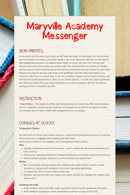 Maryville Academy Messenger