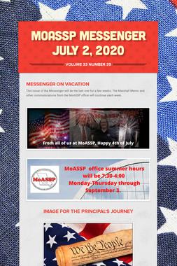 MoASSP Messenger July 2, 2020