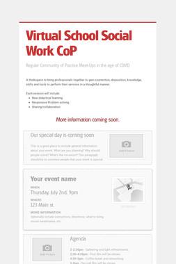 Virtual School Social Work CoP