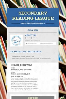 Secondary Reading League