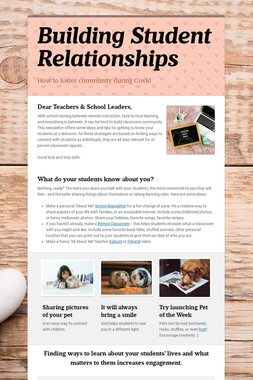 Building Student Relationships