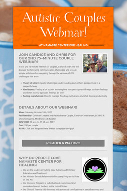 Autistic Couples Webinar!