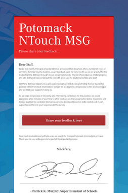 Potomack NTouch MSG