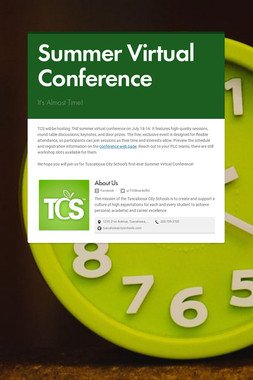 Summer Virtual Conference
