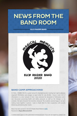News From the Band Room
