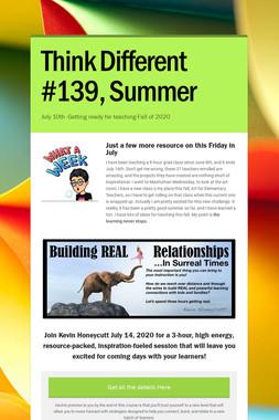 Think Different #139, Summer