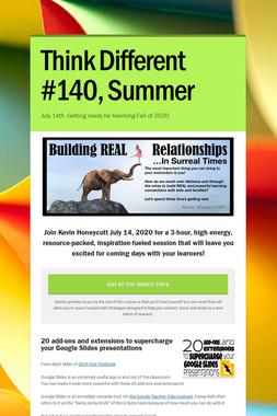 Think Different #140, Summer