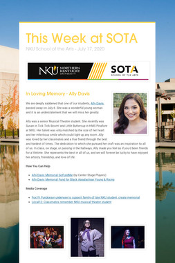 This Week at SOTA