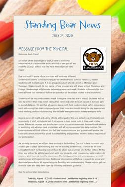 Standing Bear News