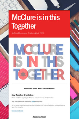 McClure is in this Together