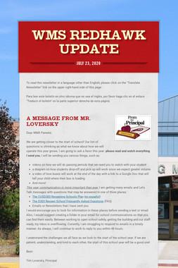 WMS RedHawk Update