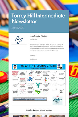 Torrey Hill Intermediate Newsletter