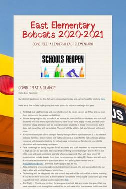 East Elementary Bobcats 2020-2021