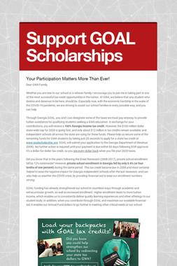 Support GOAL Scholarships