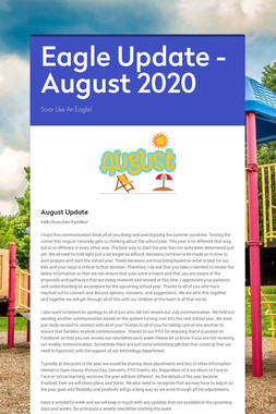 Eagle Update - August 2020
