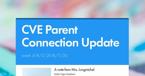 scuc parent connection
