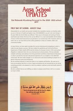 Aqsa School UPDATES