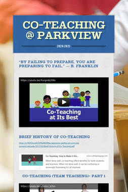 Co-Teaching @ Parkview