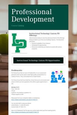 Technology Integration and PD