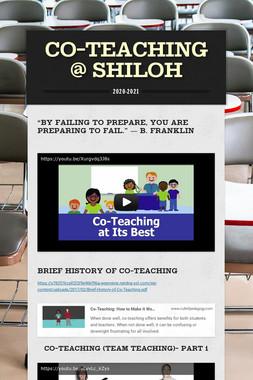 Co-Teaching @ Shiloh