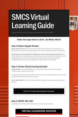SMCS Virtual Learning Guide