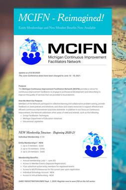 MCIFN - Reimagined!