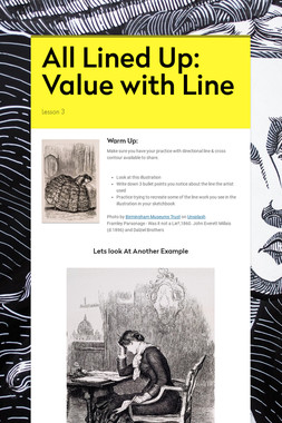All Lined Up: Value with Line