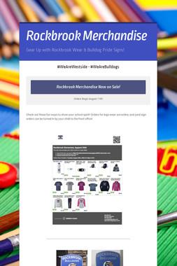 Rockbrook Merchandise
