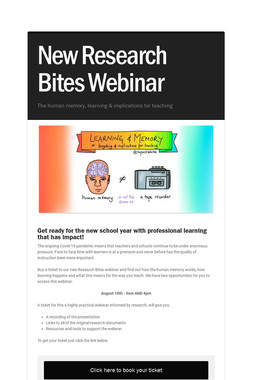 New Research Bites Webinar