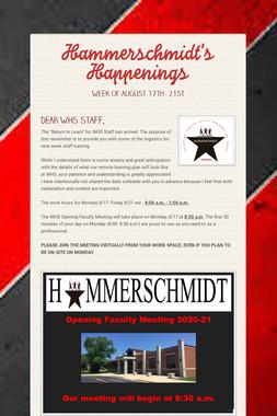 Hammerschmidt's Happenings