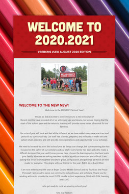 Welcome to 2020.2021