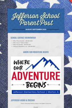 Jefferson School Parent Post