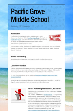 Pacific Grove Middle School