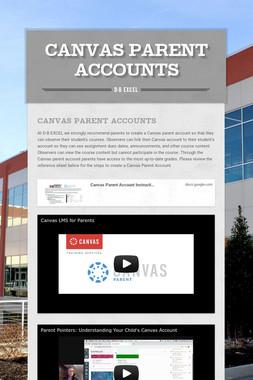 Canvas Parent Accounts