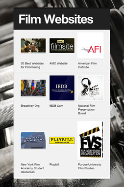 Film Websites