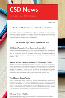 CSD News